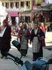 Boudhanath Women Walking