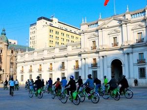 Santiago Highlights: Afternoon Bike Tour Photos