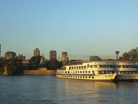 Cruise Boats On The Nile