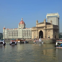 Gate Of India And Taj Mahal Hotel