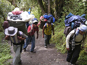 Inca Trail to Machupicchu Photos