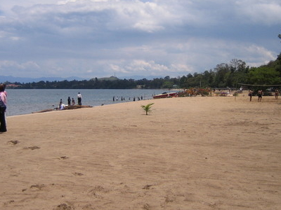 The Lake Kivu Beach At Gisenyi