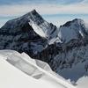 View From The Biferten Glacier Near The Summit