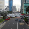 Roundabout Of Hotel Indonesia Towards South