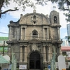 Fileview Of Poblacion Church From Plaza Cristo Rey.jpg