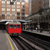 Platforms At Barbican Tube Station