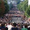 Crowds On Ladbroke Grove
