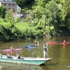 Hand-Pulled Ferry At Symonds Yat