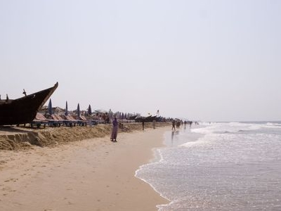 Boats At Calangute Beach