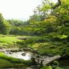 Garden View With Bridge In Murin-an