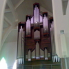 Pipe Organ At The Right Wing Of The Church