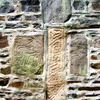 Pictish Stones Set Into The Wall Of Fyvie Kirk