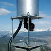 Monitoring Equipment At The Peak Of Turtle Mountain