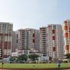 Apartment High-Rises In New Town