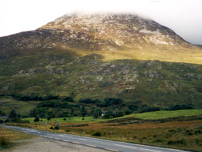 Connemara On A Cloudy Day