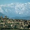 Kirtipur With The Himalaya In The Background