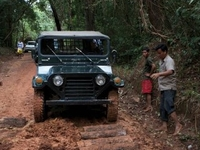 Jeep Tour Phnom Koulen