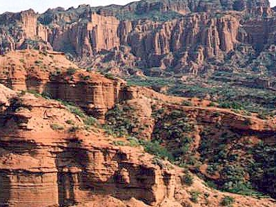 Sierra De Las Quijadas National Park