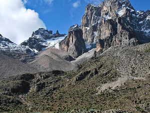 Mount Kenya Climbing Photos