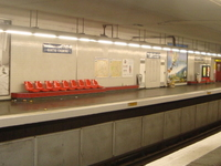 Aubervilliers Pantin Quatre Chemins Station