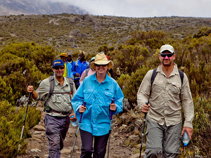 Mt. Kilimanjaro Climbing Photos