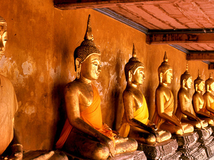 Bangkok Temple City Tour Photos