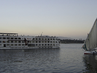 Felucca in the River Nile