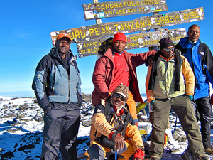 Hiking Mount Kilimanjaro Via Marangu Route Photos