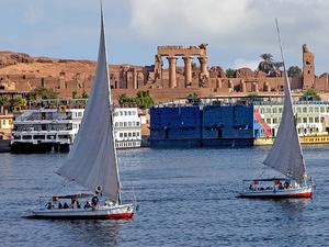Over Day in Aswan (Hi-Dam-Unfinished Obelisk-Phila Temple) Photos