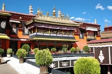 Above Jokand Main Yard In Lhasa