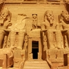 Abu Simbel Temple Of King Ramses At Aswan