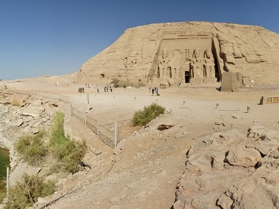 Abu Simbel Temple Site Near Aswan