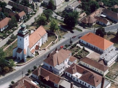 Aerial Photography  Of Sajószentpéter Town