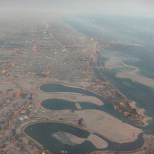 Aerial View Of Al Mamzar