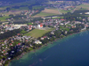 Aerial View Of  Seewalchen, Upper Austria