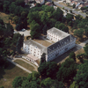 Aerial View Of The Bicske Castle.