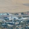 Aerial View Of Kindersley Saskatchewan