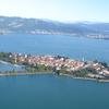Aerial View Of Lindau Island