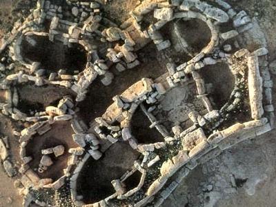Ħagar Qim Aerial Veiw - Malta