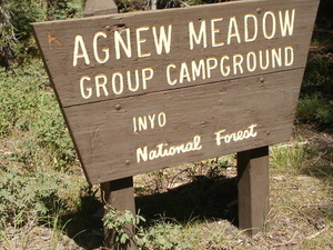 Agnew Meadows Group Campground