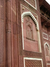 Agra Fort Red Sandstone