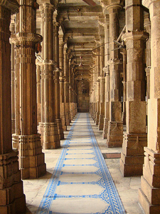Ahmedabad Jama Masjid Pillars