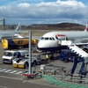 Aircraft Stands At Edinburgh Airport