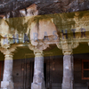 Front View Of Ajanta Caves