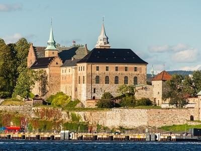 Akershus Castle In Oslo