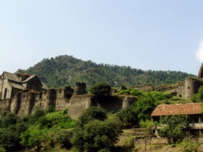 Akhtala Monastery And Fortress