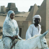A Lady Ride On Horse - Sudan