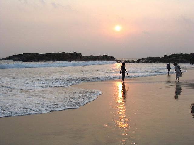 Appealing Beaches of Kerala Photos