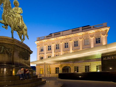 Albertina Museum At Night