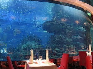 Al Mahara Restaurant In The Burj Al Arab